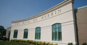 Photo of the Bank of Herrin